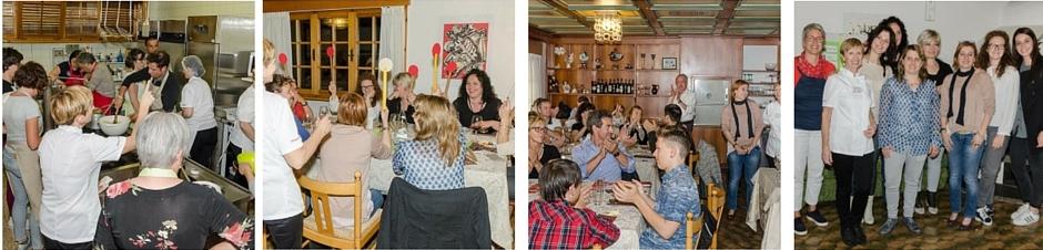sfida finale -corsi di cucina - locanda2camini - squadre -food - donne del vino