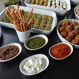 ANTIPASTI E FINGER FOOD aperitivo chic