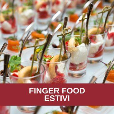 Corso di cucina: FINGER FOOD ESTIVI