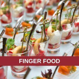 Corso di cucina: FINGER FOOD PER LE FESTE