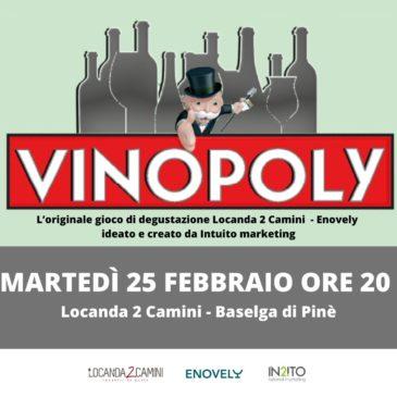VINOPOLI – martedì 25 febbraio 2020