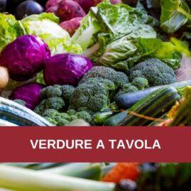 Corso di cucina: VERDURE A TAVOLA
